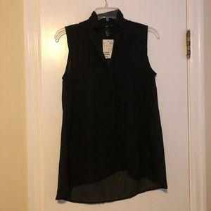 Sheer Black H&M Tank Top